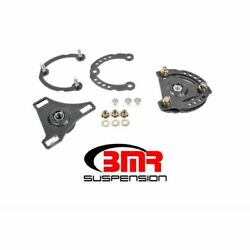 Bmr Suspension Cp001h Wheel Alignment Kit Caster/camber Plates Black New
