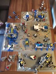 Giant Lego Vintage Classic Space Collection. No Boxes Or Instructions.