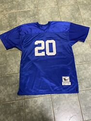 Detroit Lions 1994 Barry Sanders Mitchell And Ness Throwback Please Read