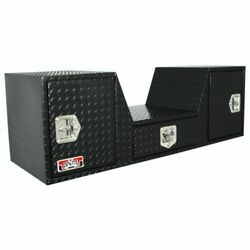 Unique Truck Accessories Rb257d-bt 57 V Shape Fifth Wheel Tailgate Tool Box New