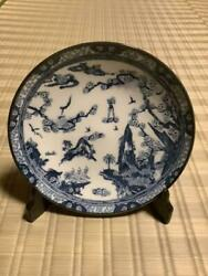 Tadanori Yokoo Signed Skull Large Plate Collectible Free Shipping From Japan