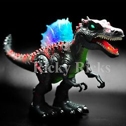 Walking Dinosaur Spinosaurus Light Up Kids Toy Figure Sounds Real Movement LED $17.99