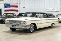 1963 Ford Galaxie 500 XL 1963 Ford Galaxie 500 XL 65175 Miles Beige Convertible 352ci V8 Automatic