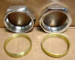 Chrome Manifold Nuts And Seals Fit Harley L Knucklehead E Panhead