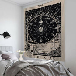 The Star Tarot Wall Hanging Tapestry Bedspread Throw Cover Bedroom Decor