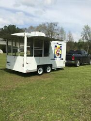 2002 Wells Cargo Street Food Vending Concession Trailer for Sale in Louisiana!!