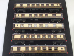 Golden Age Models Oo Gauge Brass 5 Car Pullman Emu 3051 Dcc Fitted