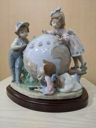 Lladro Voyage Of Columbus 5847 Lladro Mark Signed And Dated Free Shipping From Jpn