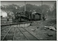 Sandy River And Rangeley Lakes Railroad 5x7 Photo C23 Locomotive 17 And 18 Phillips