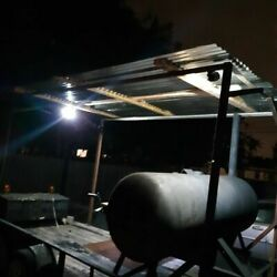 Used 2012 Covered Bbq Pit W/ 250-gallon Smoker Tailgating Trailer For Sale In Te