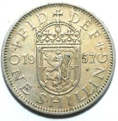 Great Britain - One Shilling 1957 1968