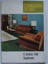Vintage Furnishing Supplement From Scottish Field Mid-1960s