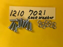 Harley Primary Cover 10 Screws Part1210-1211and7021 1941-1964 Fl Flh Panhead