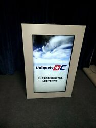 Digital Podium - Portable 4k Collapsible Lectern Churches Conference Stainless