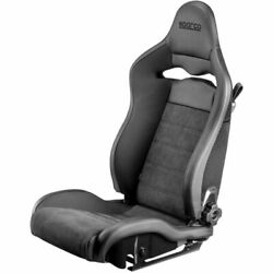 Sparco 00974znrsx Spx Street Racing Seat Driver Side Black Steel Shell New