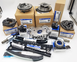2000-2010 Timing Chain Kit 14 Pieces New Ford Oem Expedition 5.4l V8 24v Ohv