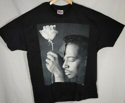 Vintage Rare 1993 Luther Vandross Never let Me Go T-Shirt Black X-Large 2 Sided