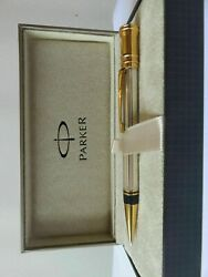 Parker Duofold Pencil Sterling Silver 0.9mm Pencil New In Box