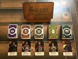 Gwent Cards 5 New Factions Witcher 3 Full Set With Box