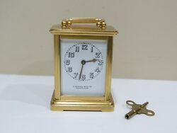 Rare Antique American Eight Day Carriage Clock By Chelsea Clock Co.