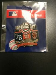 Opening Day Pin Sf Giants 4/5/2019 Oracle Park San Francisco Tampa Bay Sold Out
