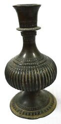 Brass Hookah Vintage Solid Hand Carve Old Collectible Piece