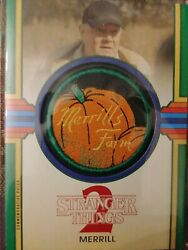 Merrill Patch Card 42/50 Green Parallel Stranger Things 2 Topps 2018