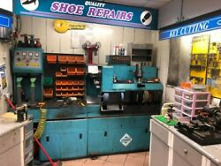 3 Phase Shoe Repair Machine In Perfect Working Order. New Brushes And Padsandnbsp