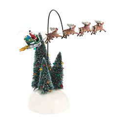 Animated Flaming Sleigh Department 56 Snow Village Dept 4030744 Griswold