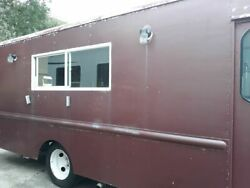 Good Running Chevrolet P30 Step Van Rewired Food Truck  Mobile Food Unit for Sa