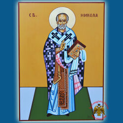 Orthodox Icons Handpainted Hagiography Special Order Collection 50x70cm Ikonen