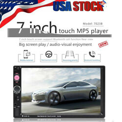 7 Inch Led Car Stereo Radio Hd Mp5 Player Touch Screen Bluetooth Radio 2din Fm