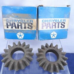 Nos Differential Side Gear Set 8-3/4 Sure Grip 1958-1967 Dodge Plymouth 1829448