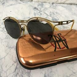 Vintage Jean Paul Gaultier Sunglass 1990's From Japan Free Shipping