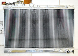 Aluminum 2 Rows Performance Radiator For 94-99 Toyota Celica Gt4 4wd 3s-gte