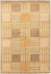 Hand-knotted Carpet 5'8