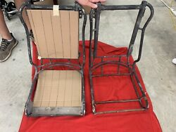 Vintage 1960s 2 Huey Helicopter Seats Hot Rod Rat Rare Find Free Shipping
