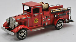 Vintage Model Of A So Prairie Fire Dept.fire Truck Home/office Decoration Decor