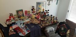 Disney Mickey Mouse Collection Over 100 Items
