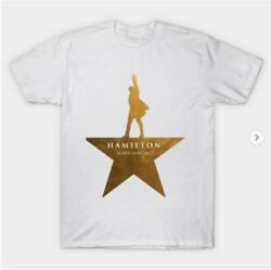 Hamilton Graphic Music Funny  T-Shirts Gift Tee size M-3XL US Men's Shirt Trend $8.99