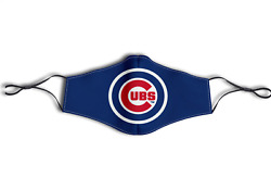 Custom Printed CHICAGO CUBS BASEBALL Face Mask AdultKids Reusable  $14.99