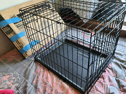 Four Paws K-9 Keeper Dog Crate - Deluxe Series For Small Dogs Up To 25 Lbs.