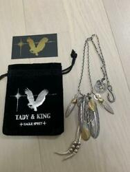 Tady And King Pendant Set Necklace Collection Kami Set Genuine Silver F/s From Jpn