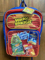 Topps Wacky Packages Cards 2006 Backpack Back Pack NWT New Blue $21.97