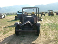 Vintage Barn Find 1924 Truck Needs Alot Of Work Very Rare To Find Gd Proj