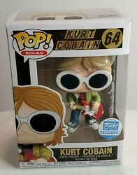 Funko Pop Rocks #64 Kurt Cobain in Sunglasses - Funko Shop Exclusive
