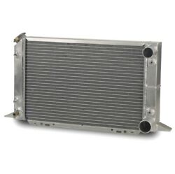 Afco 80104n Radiator Scirocco Rh Inlet Rh Outlet Aluminum Natural 1pc New