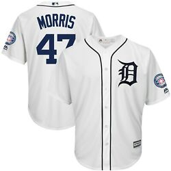 Jack Morris Detroit Tigers Hall Of Fame Patch Majestic Jersey Adult Clearance