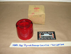 Nos/nors 1961 Plymouth Fury Belvedere Savoy Suburban Plaza Tail Light Lens