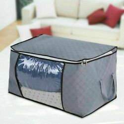 Foldable Home Closet Storage Bag Clothes Blanket Quilt Sweater Organizer Box NEW